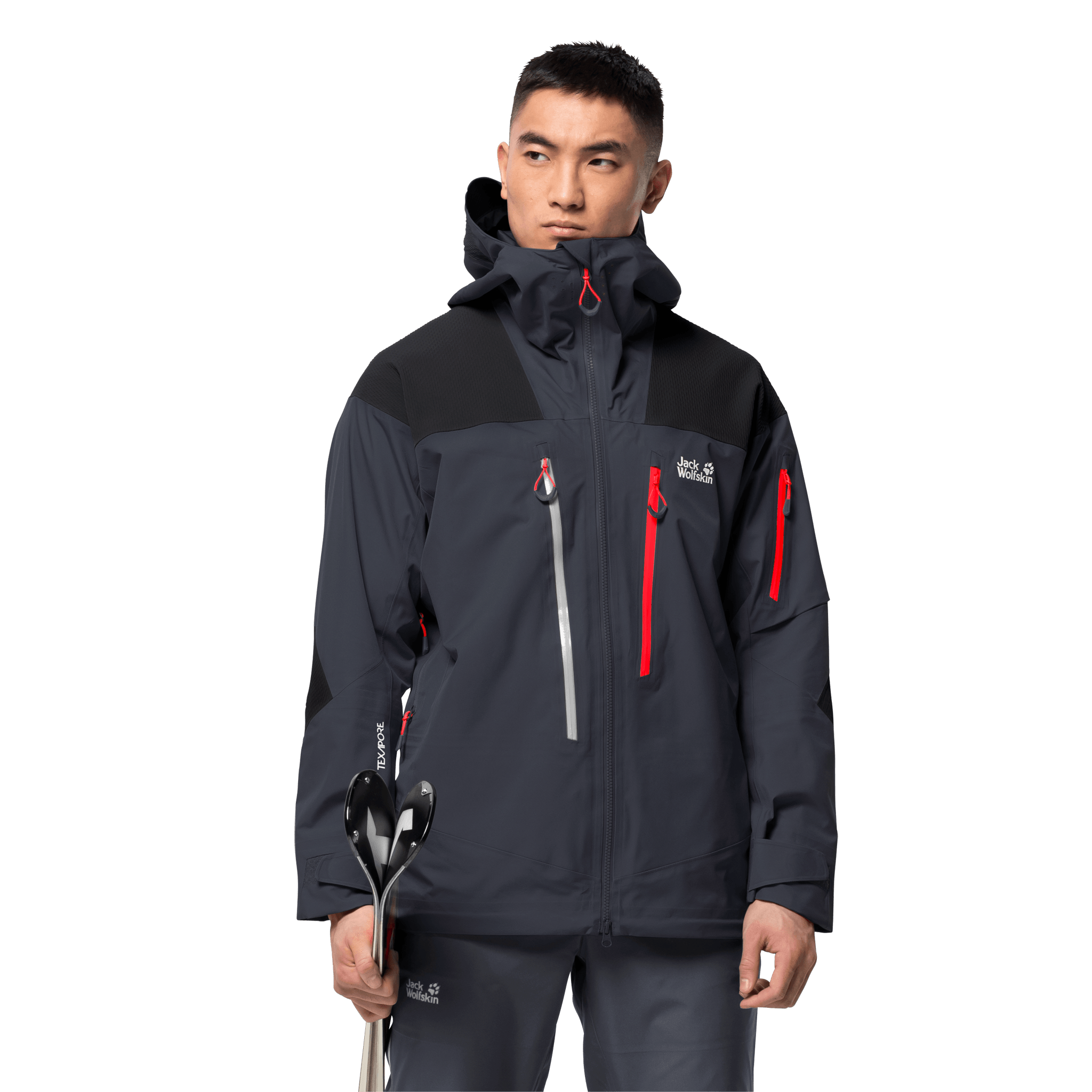 Ebony Men'S Ski Jacket