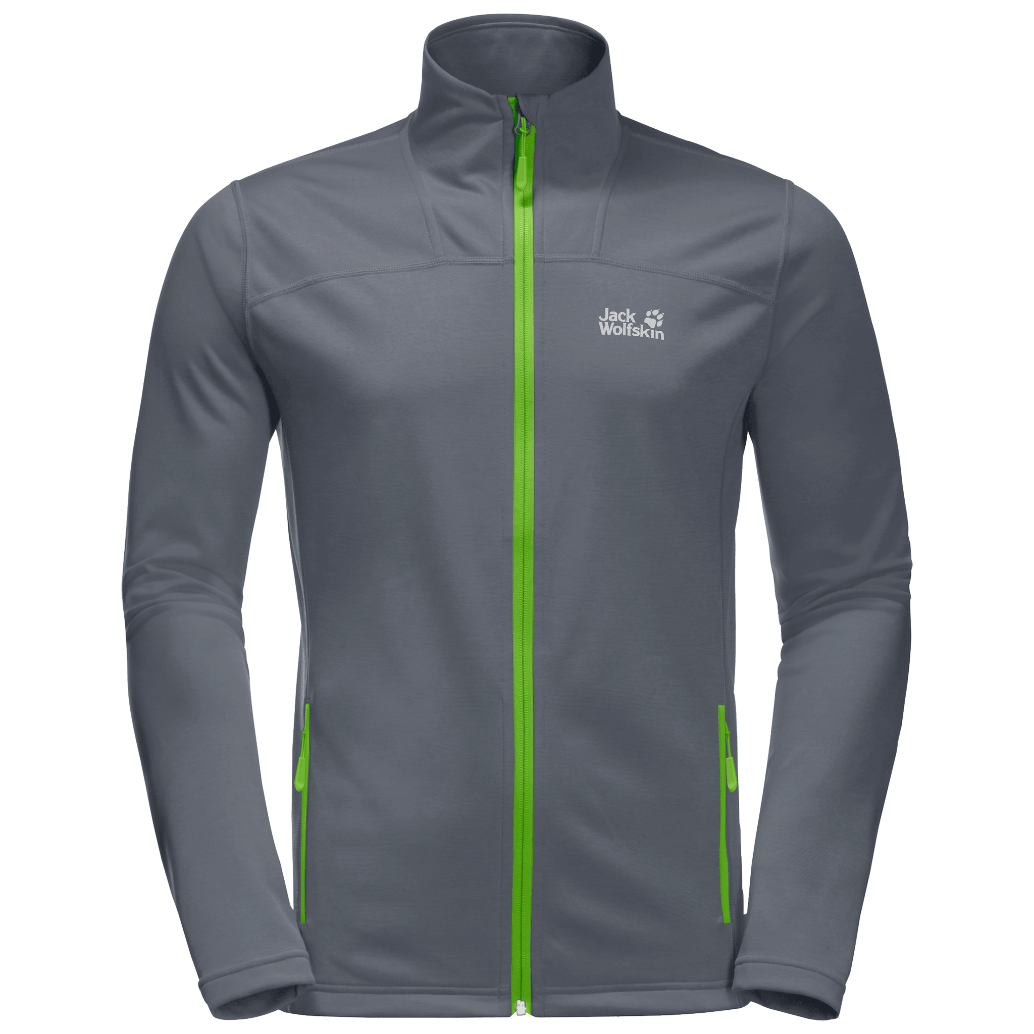 Leaf Green Hiking Jacket Men