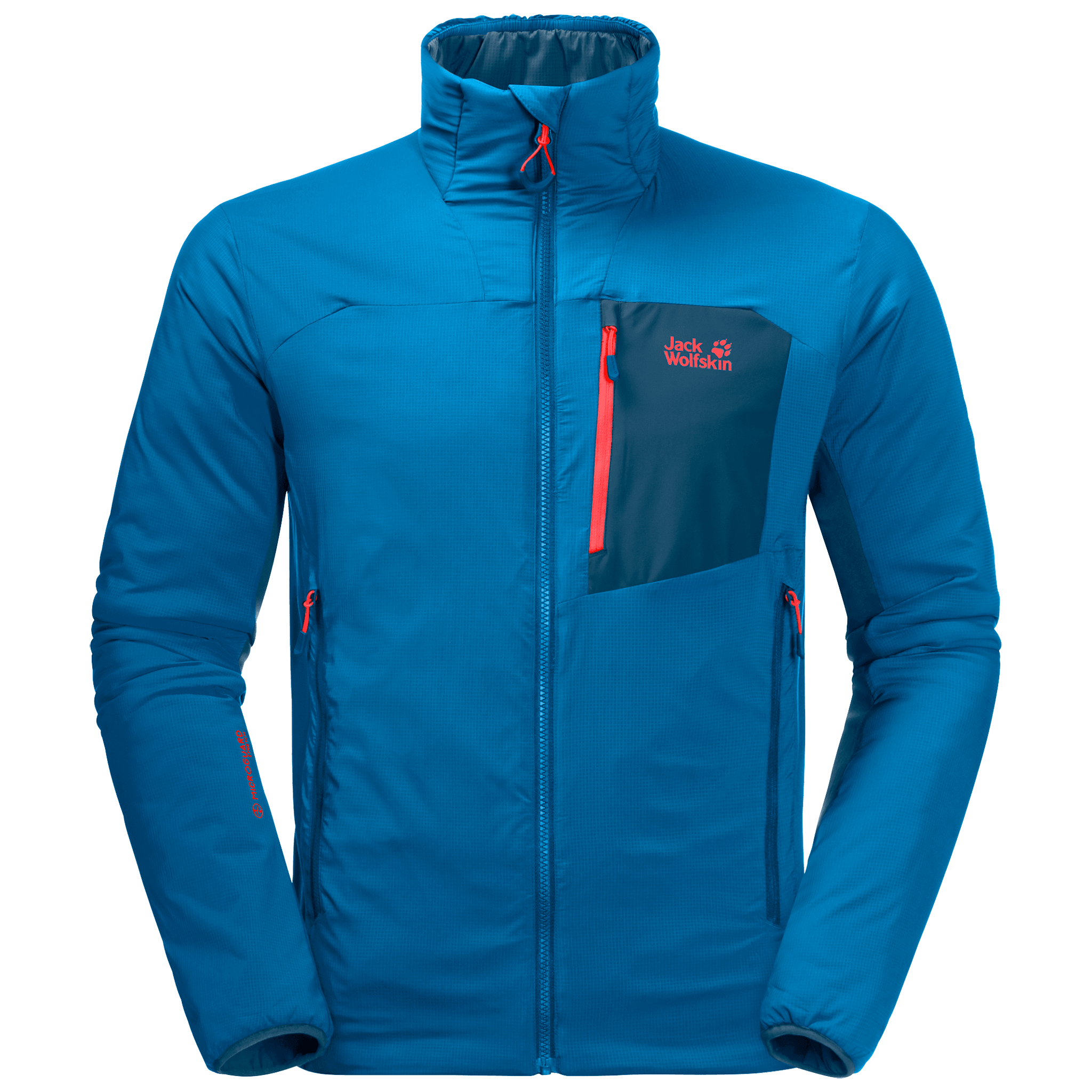 Blue Pacific Men'S Insulated Jacket