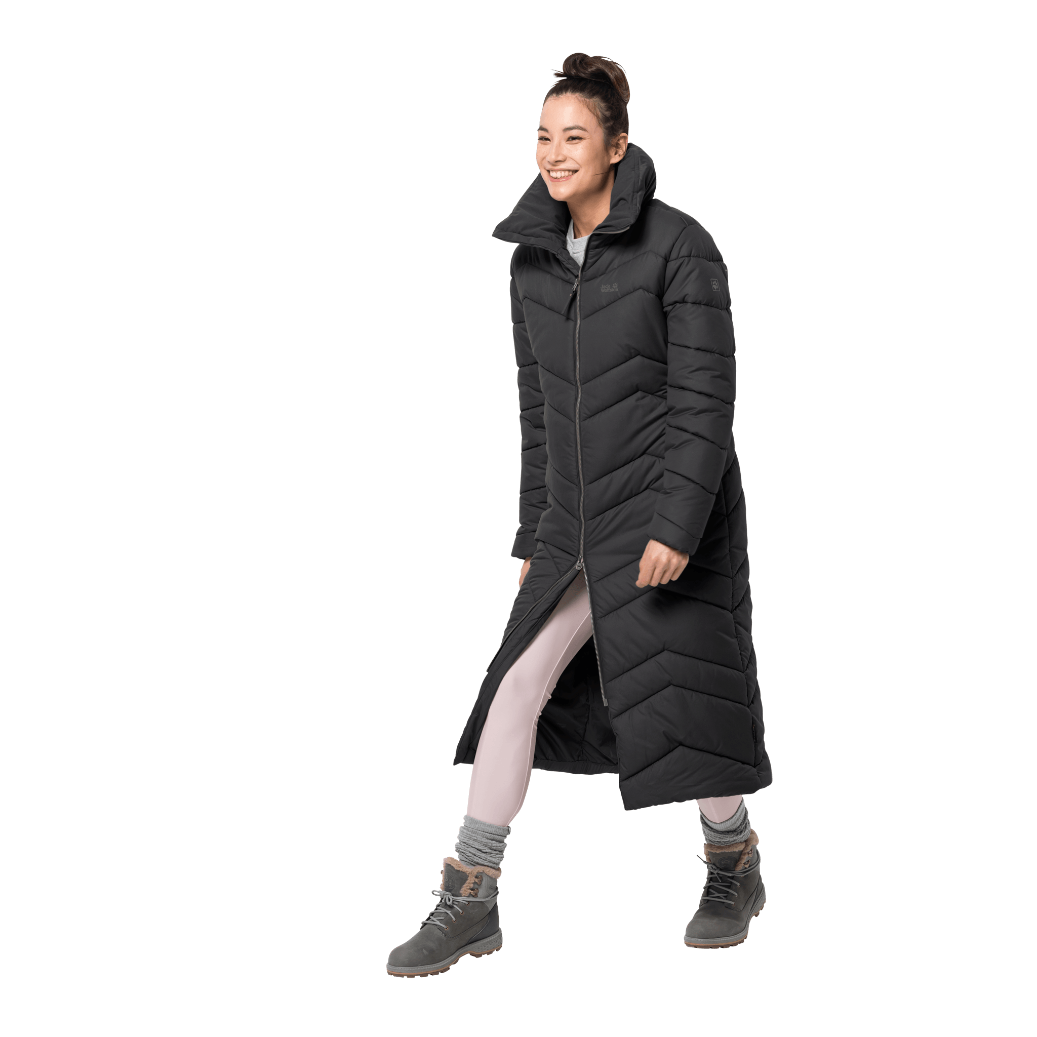 Black Winter Parka Women