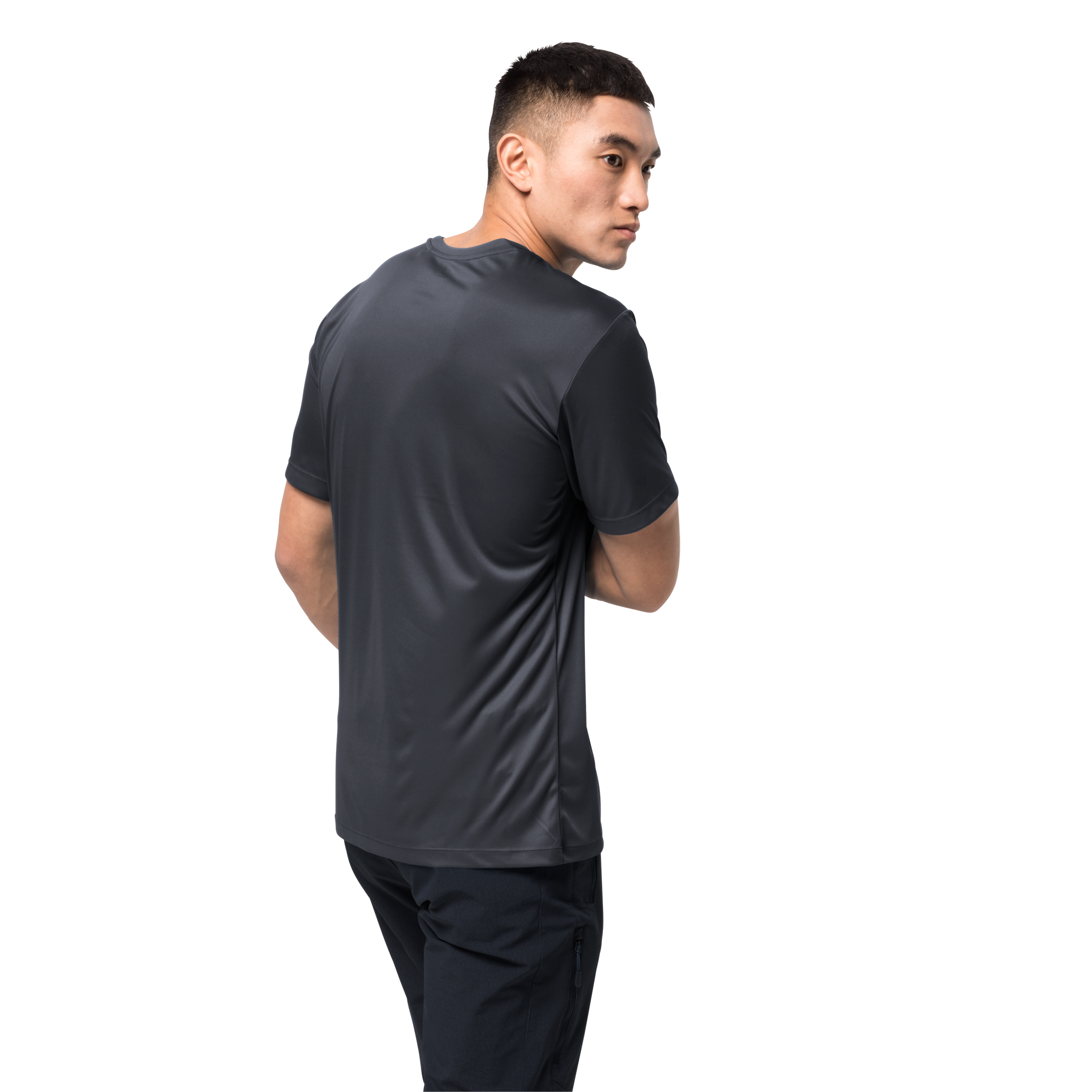 Ebony Mens Athletic Shirt