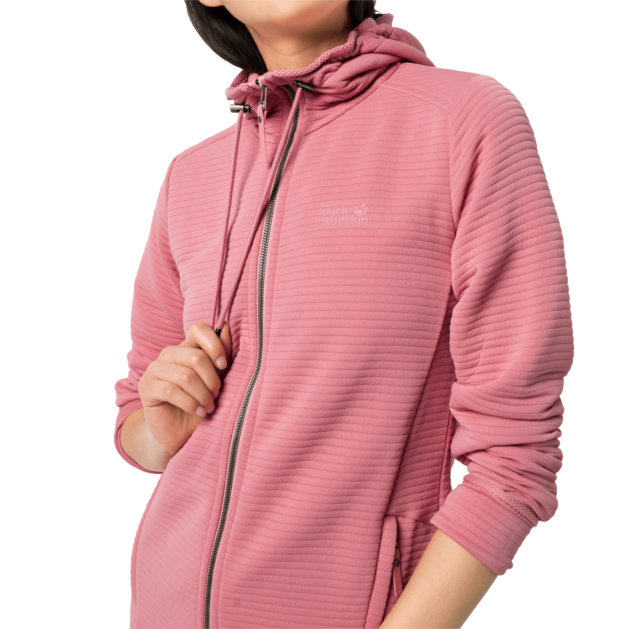 Rose Quartz Lightweight Travel Fleece Jacket