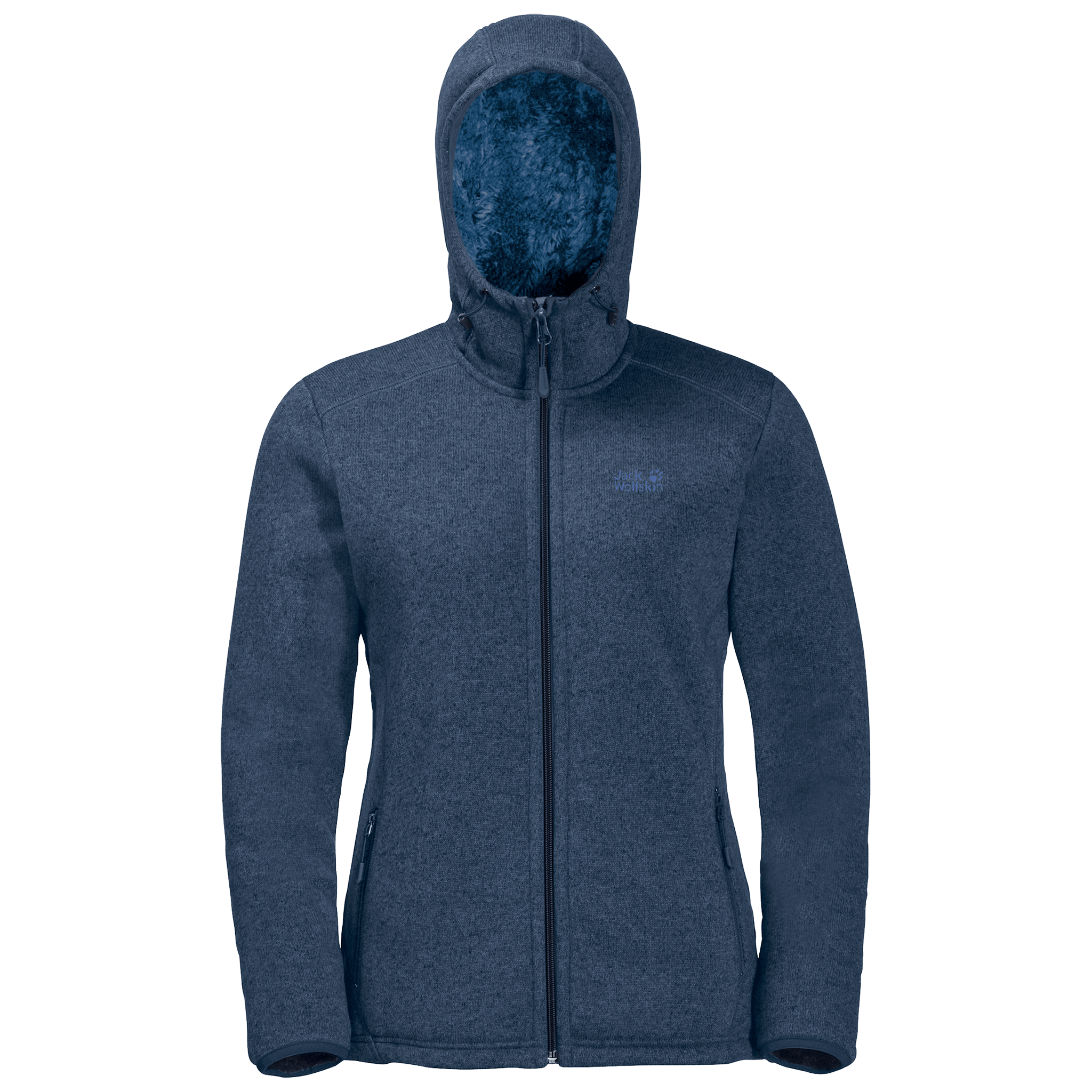 Dark Indigo Fleece Jacket Women