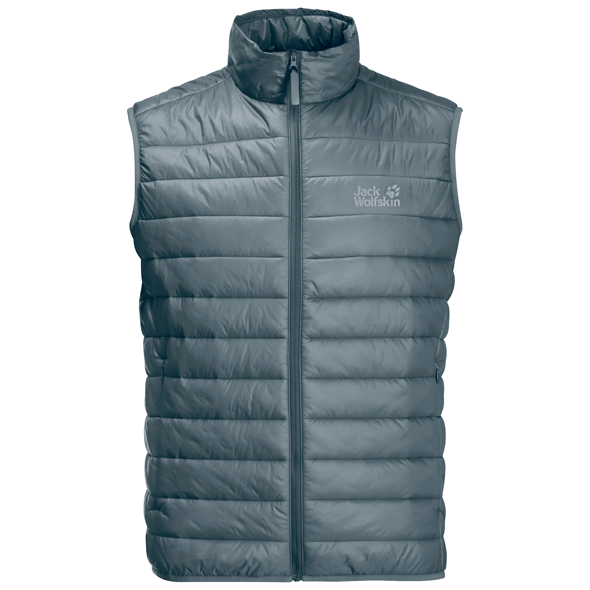 Storm Grey Windproof Insulated Vest