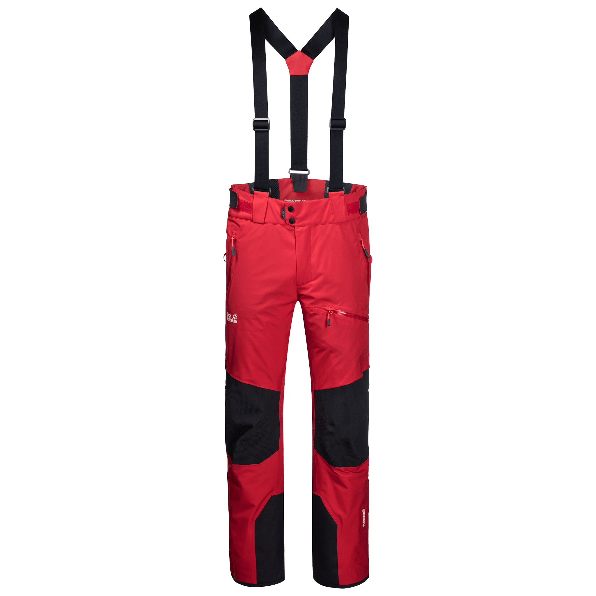 Red Fire Ski Pants Men