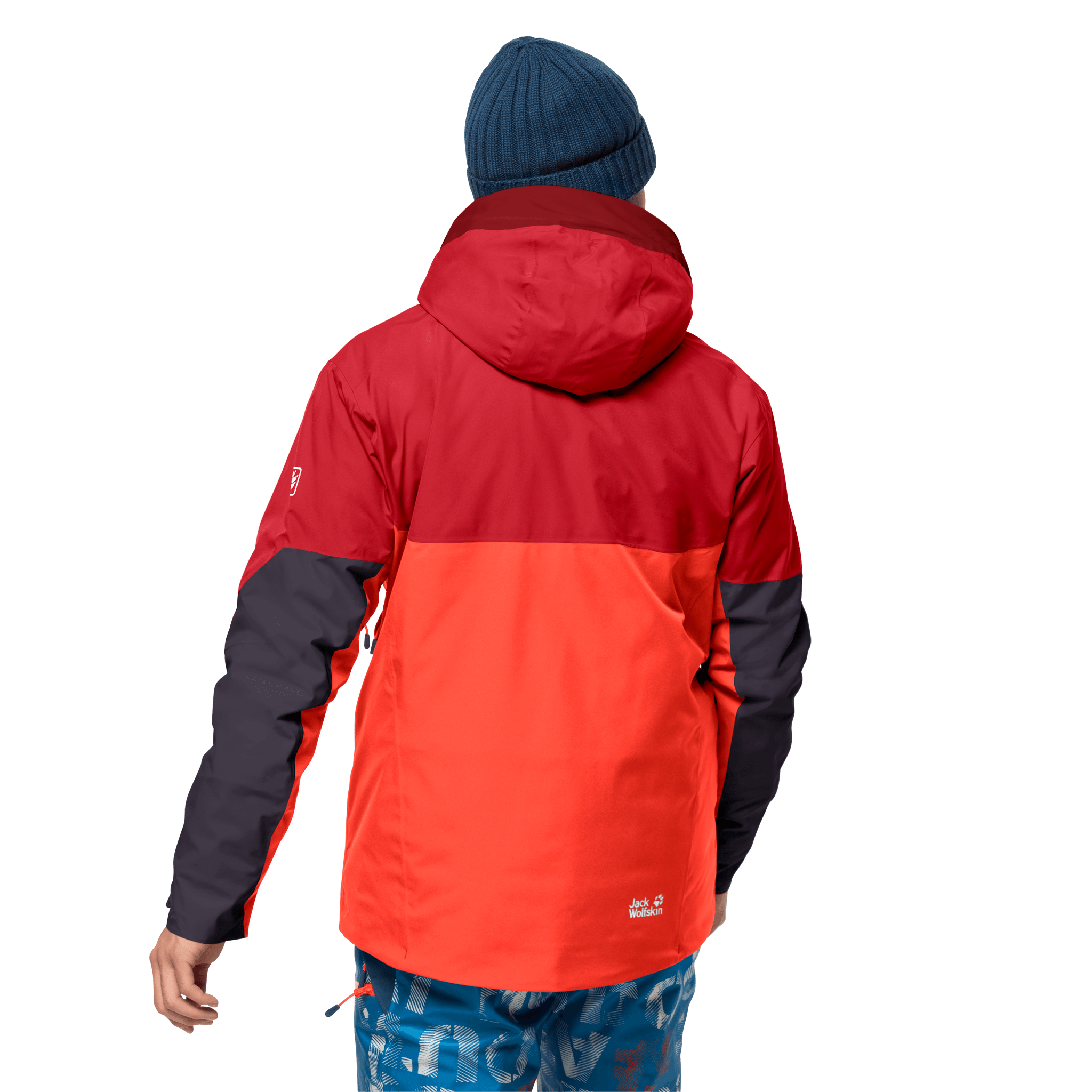 Red Fire Ski Jacket Men