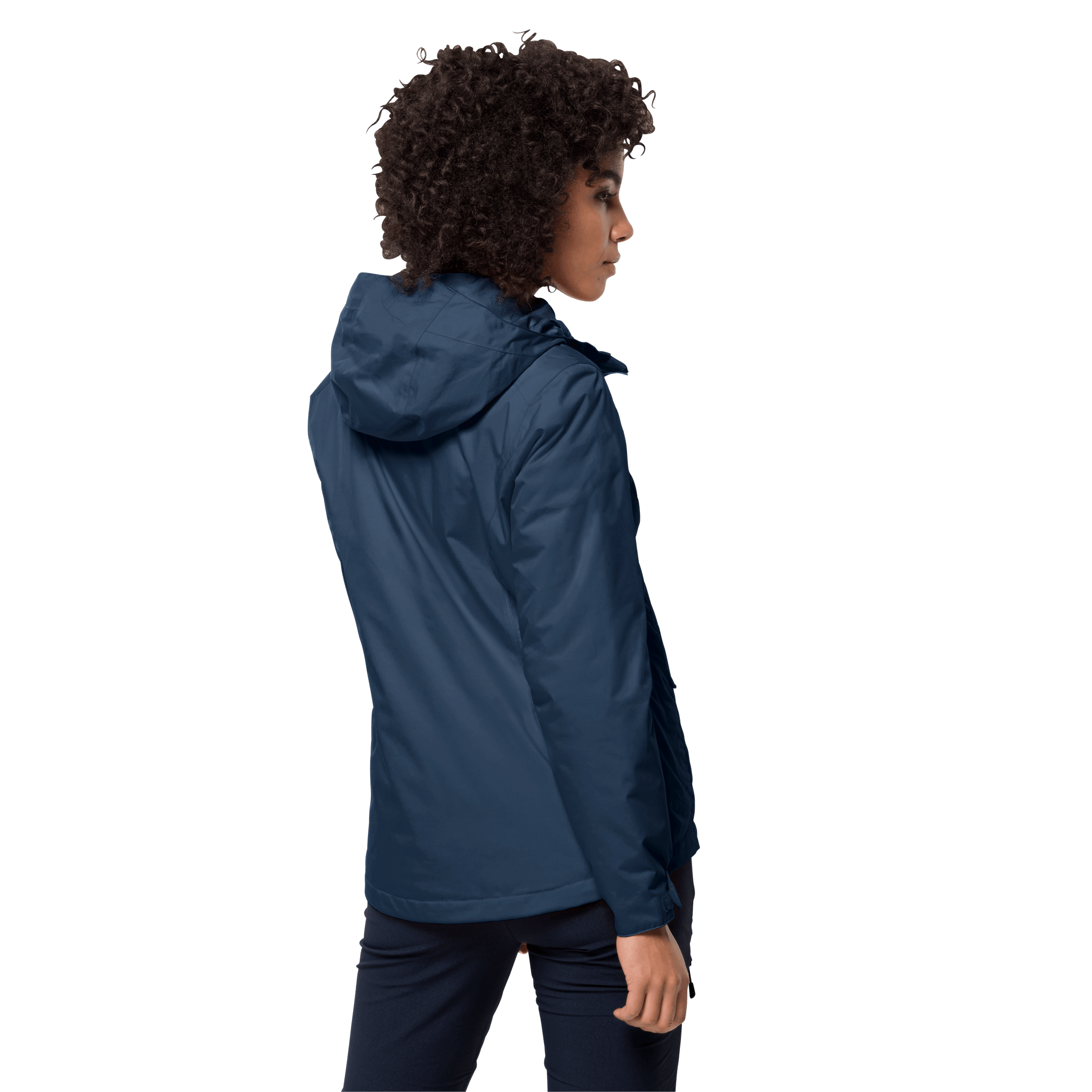 Dark Indigo Women'S Winter Coat