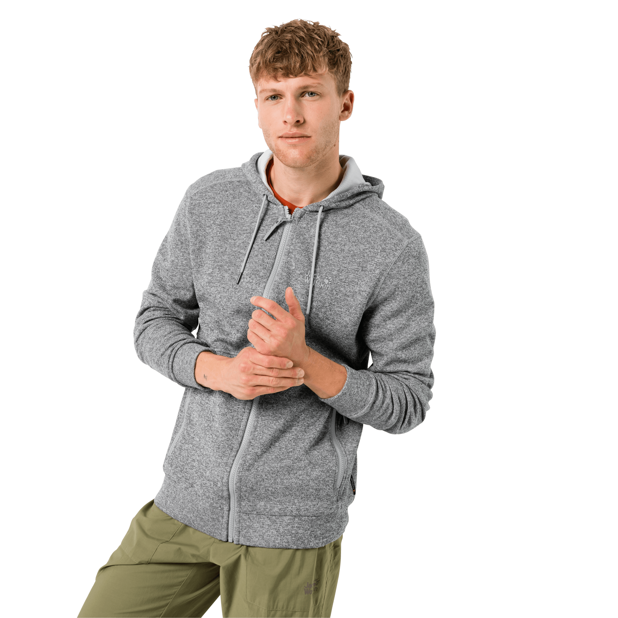 Slate Grey Lightwight Stretchy Fleece