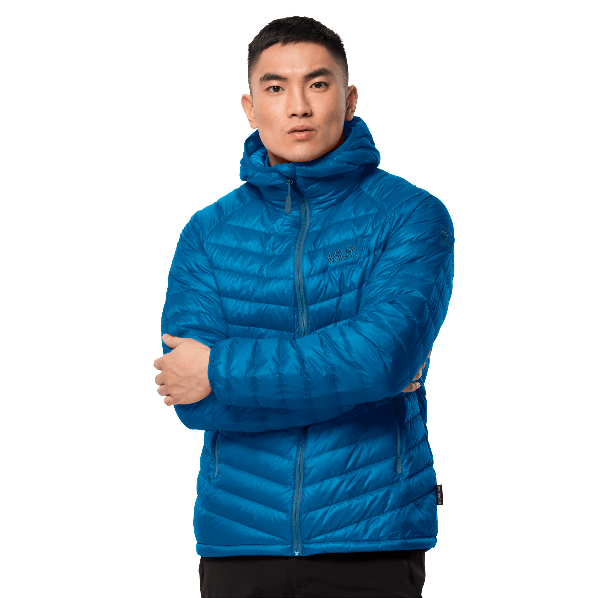 Blue Pacific Windproof Insulated Jacket Men