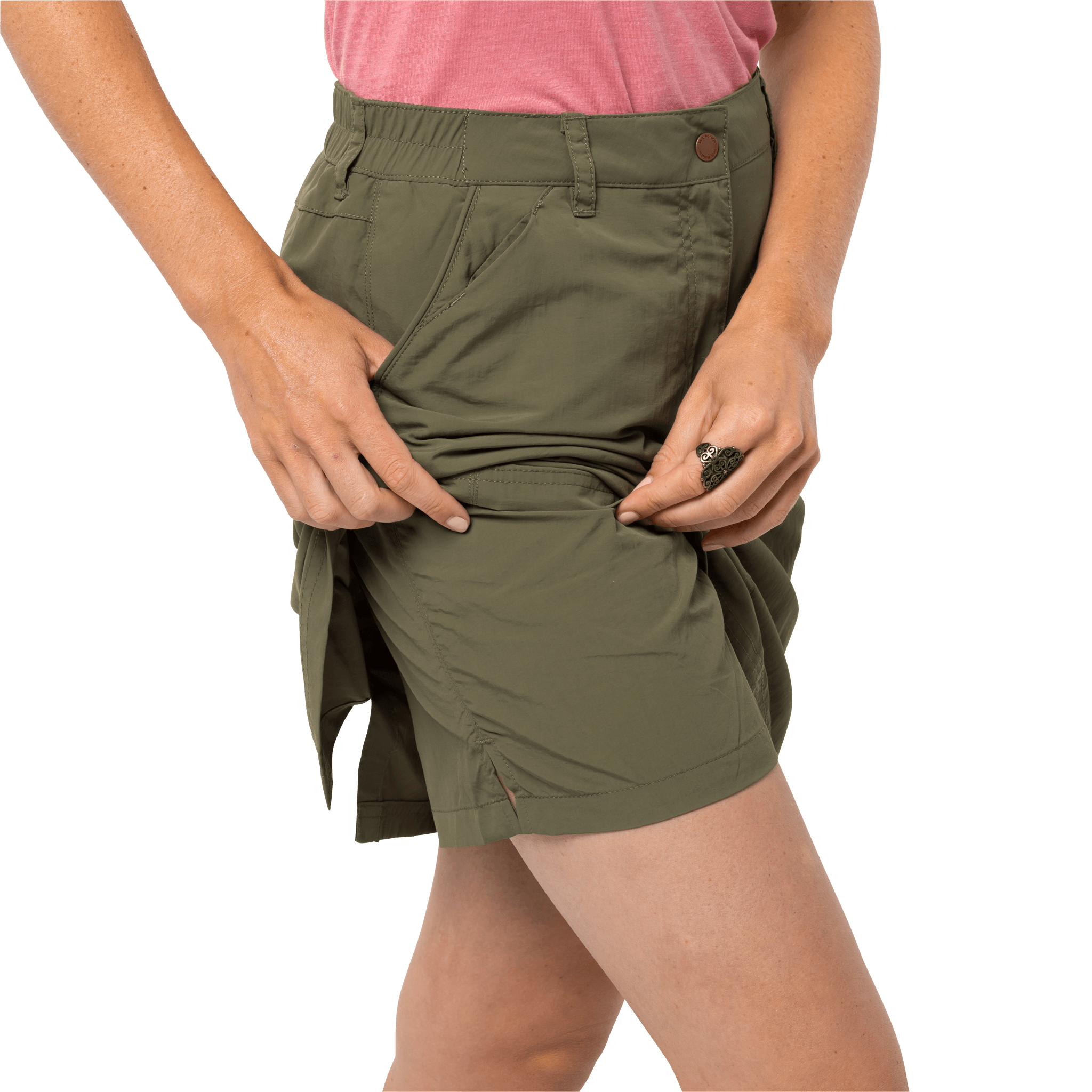 Delta Green Lightweight Travel Skort