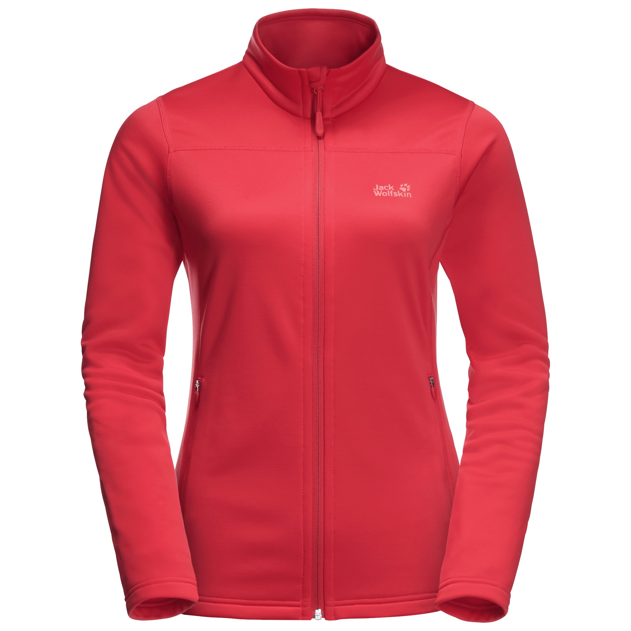 Tulip Red Fleece Jacket Women