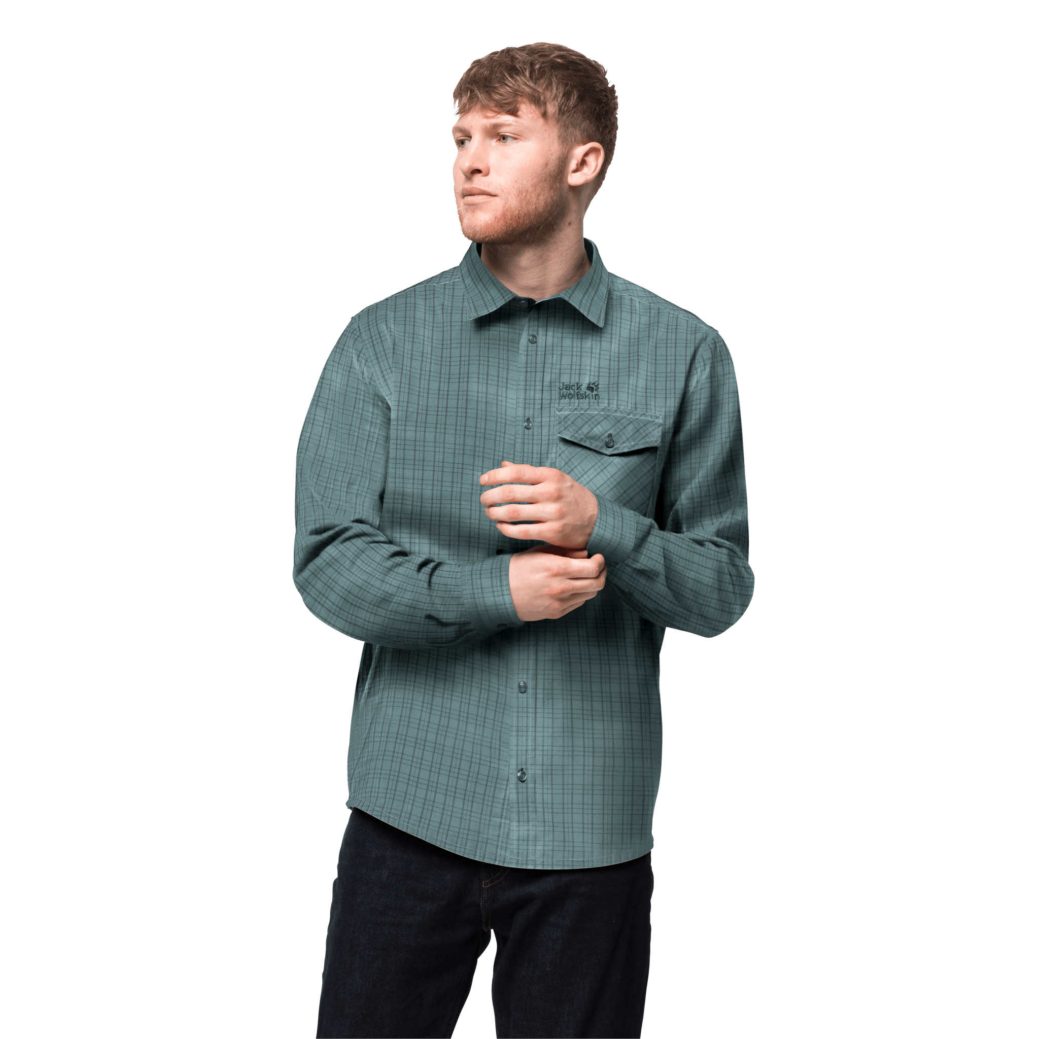 North Atlantic Checks Organic Cotton Button-Down