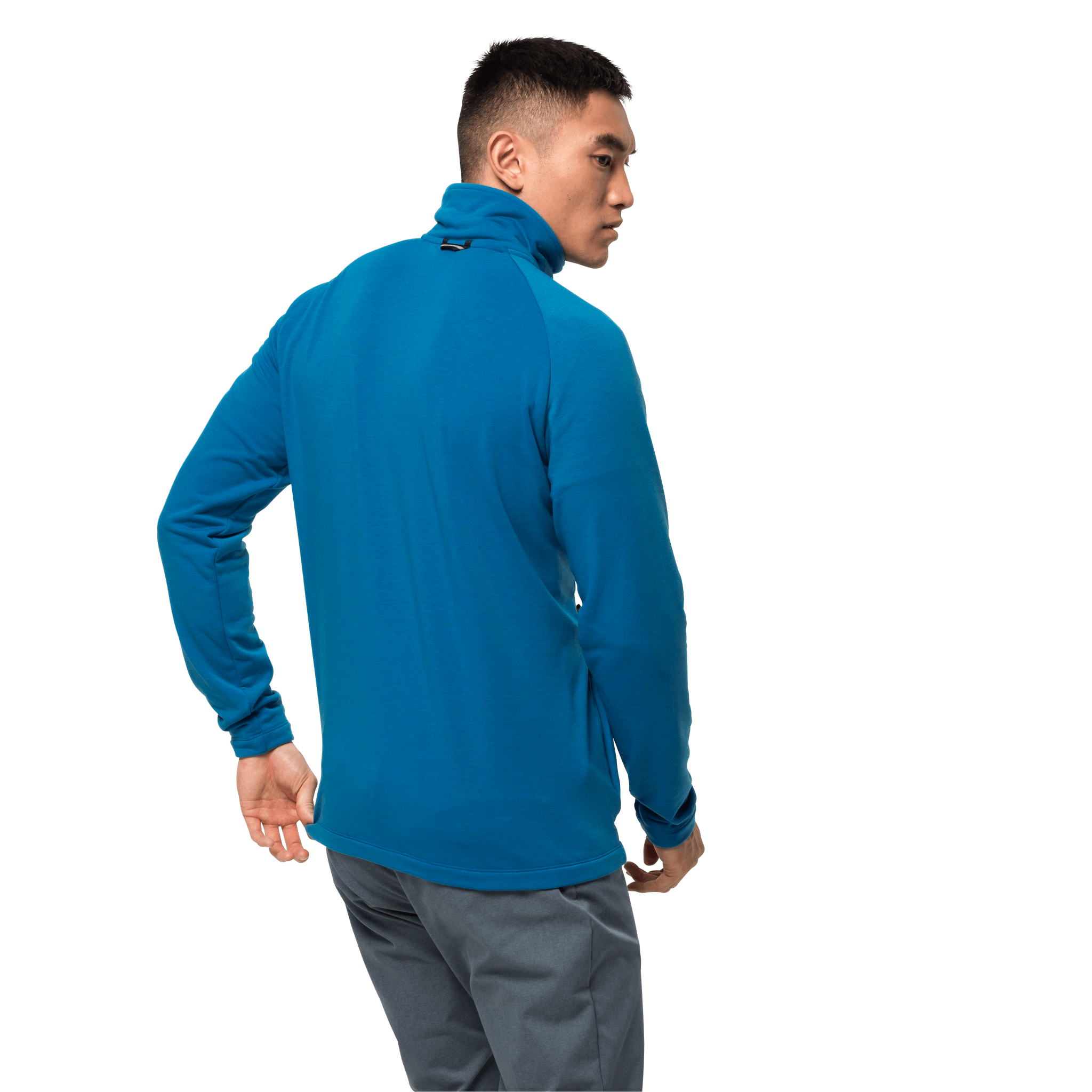 Blue Pacific Ultralight Packable Fleece