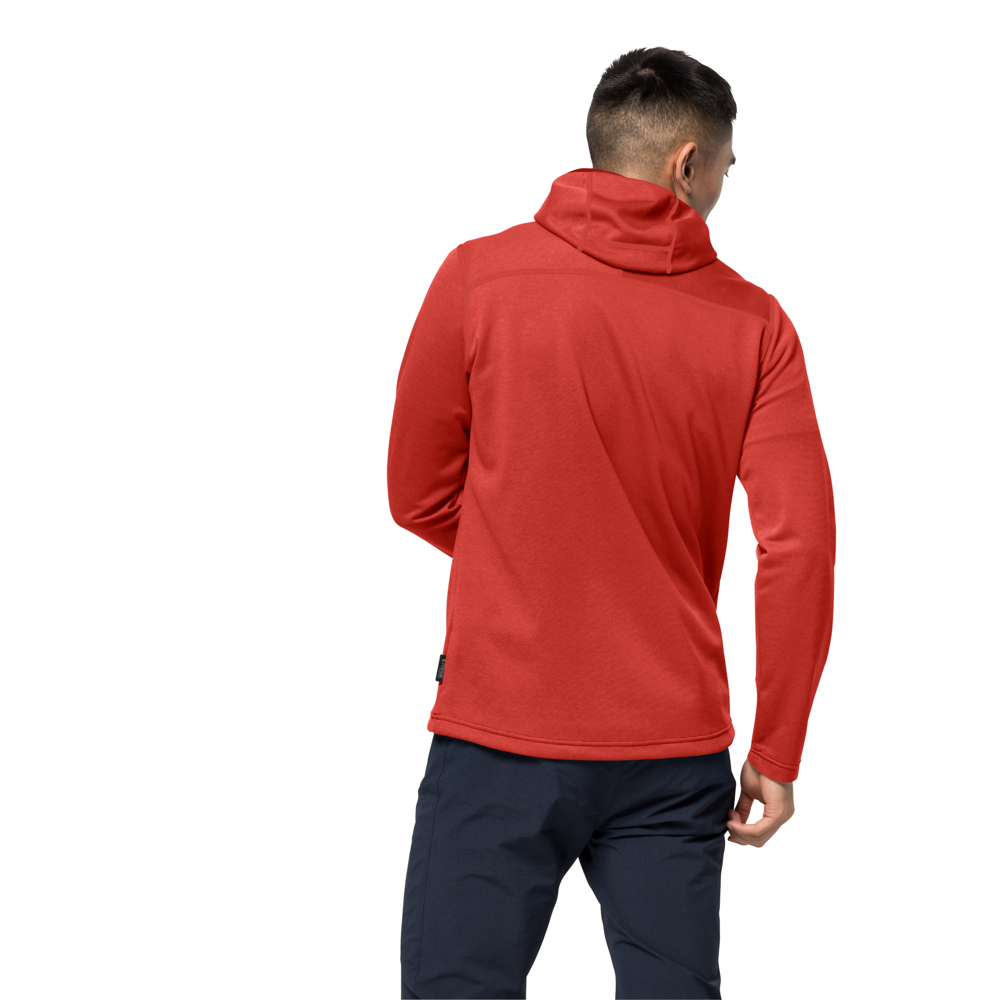 Lava Red Hiking Jacket Men