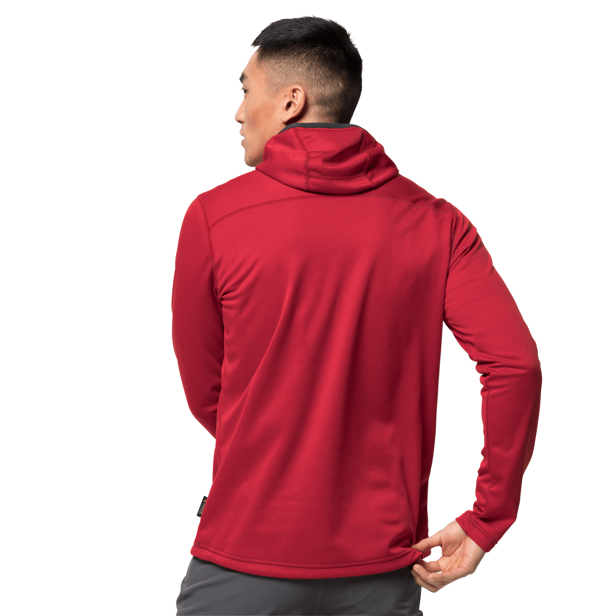 Red Lacquer Hiking Jacket Men