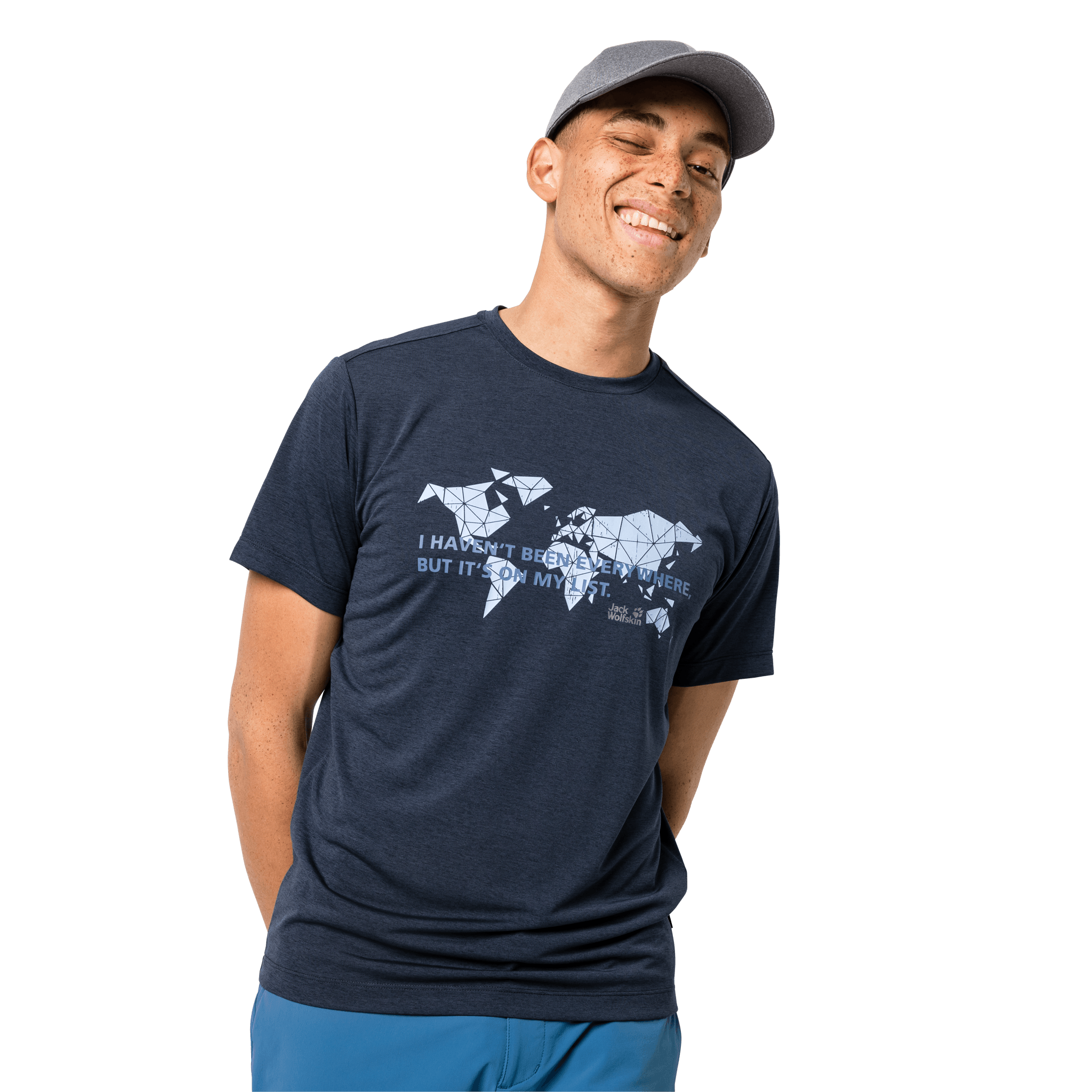 Night Blue Travel T-Shirt Men