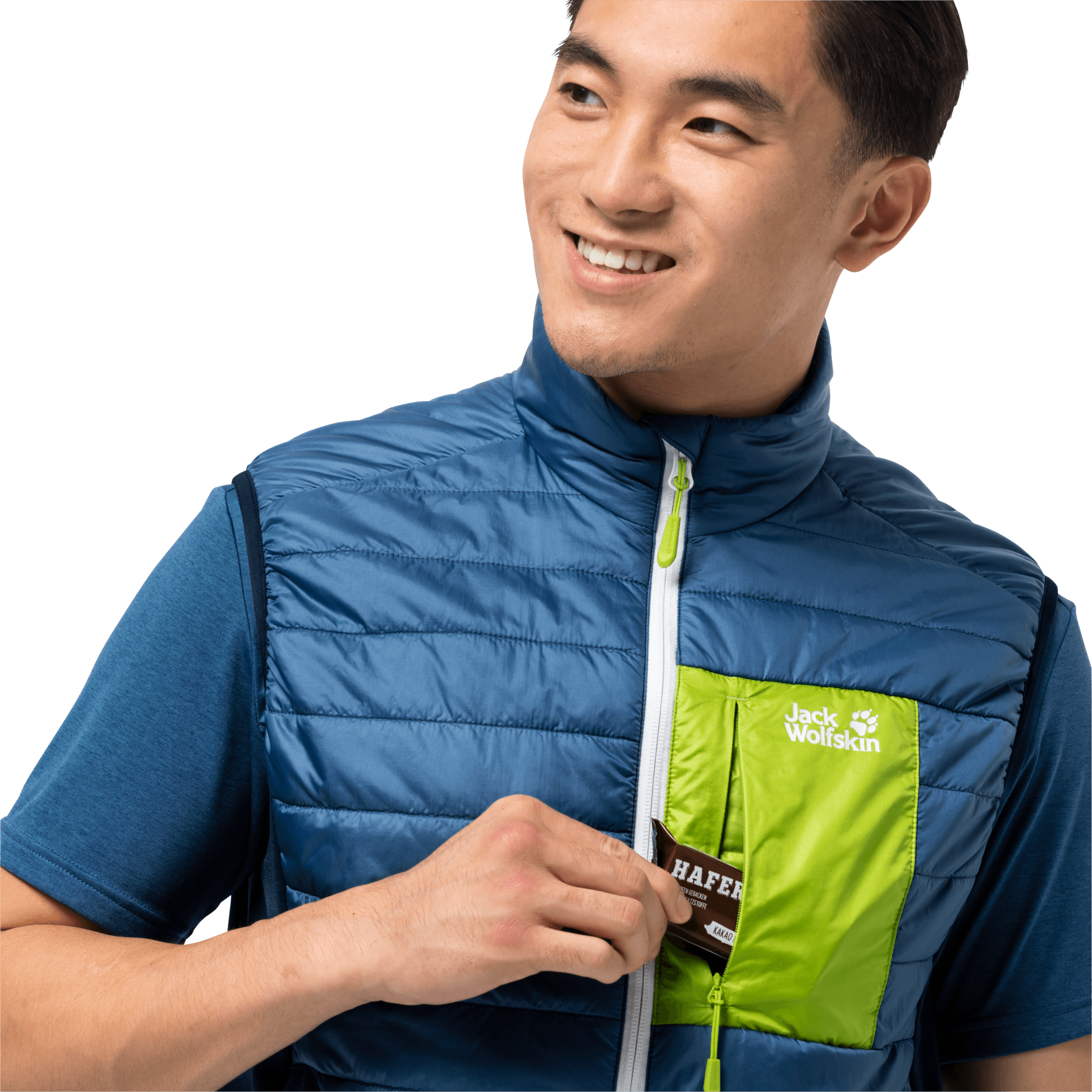 Indigo Blue Windproof Insulated Vest