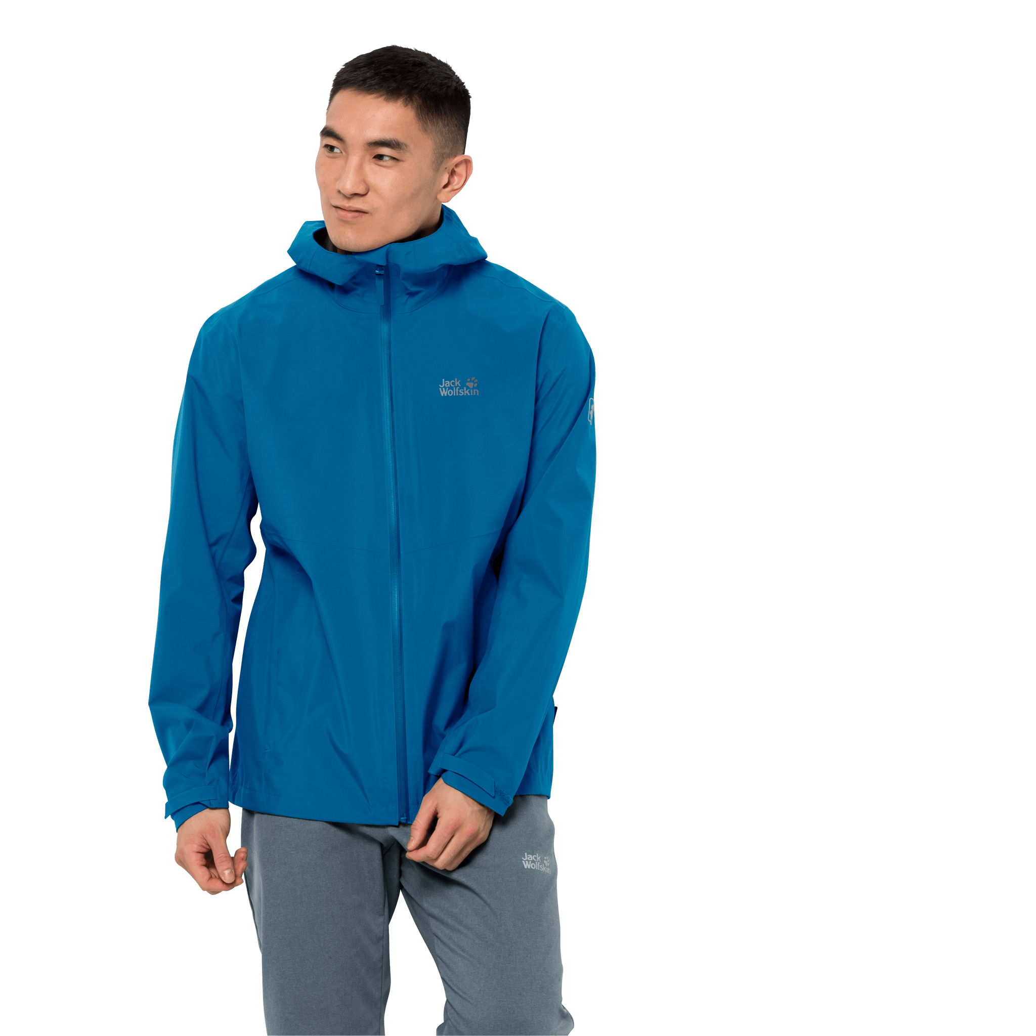 Blue Pacific Ultralight And Packable Jacket Men