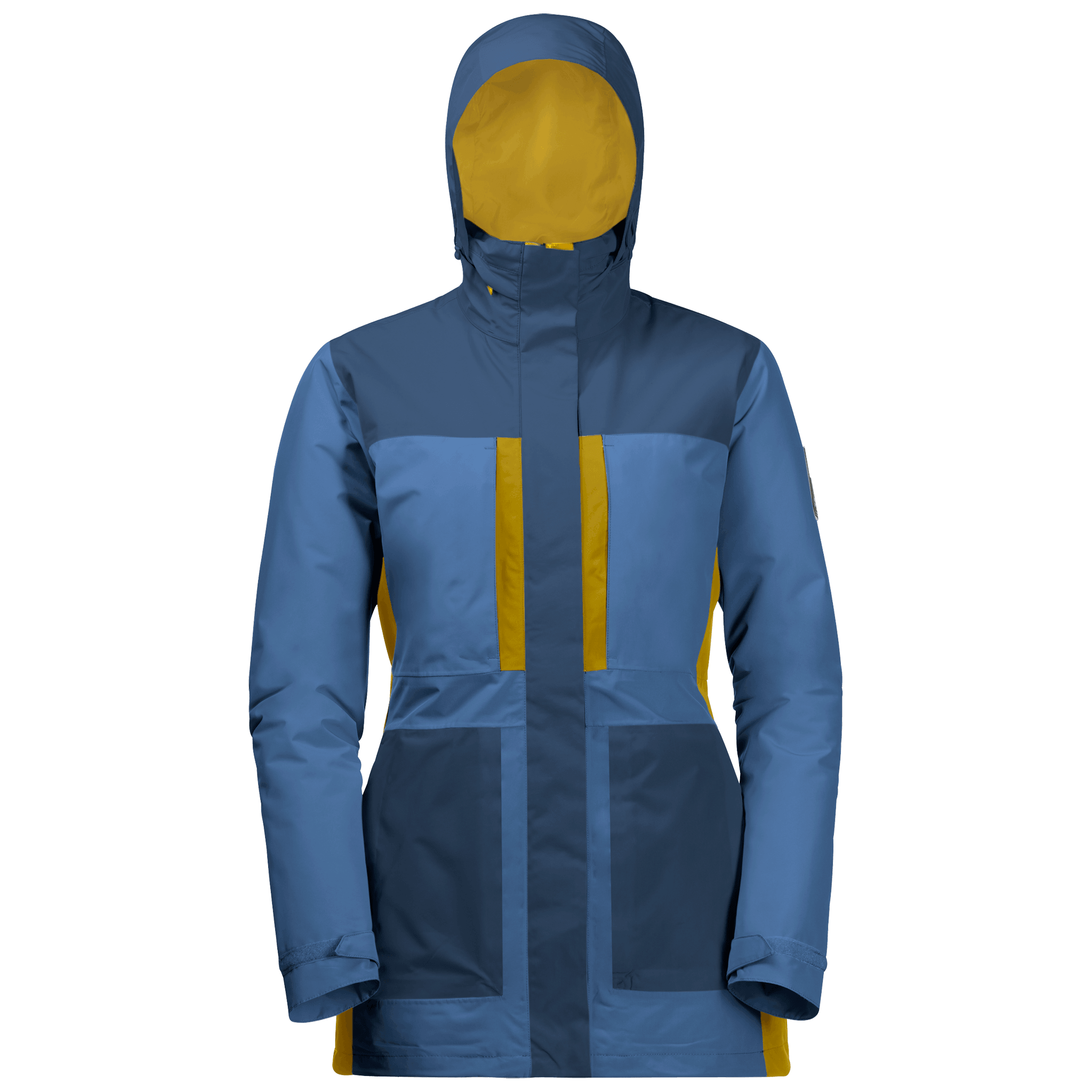 Federal Blue Winter Parka Women