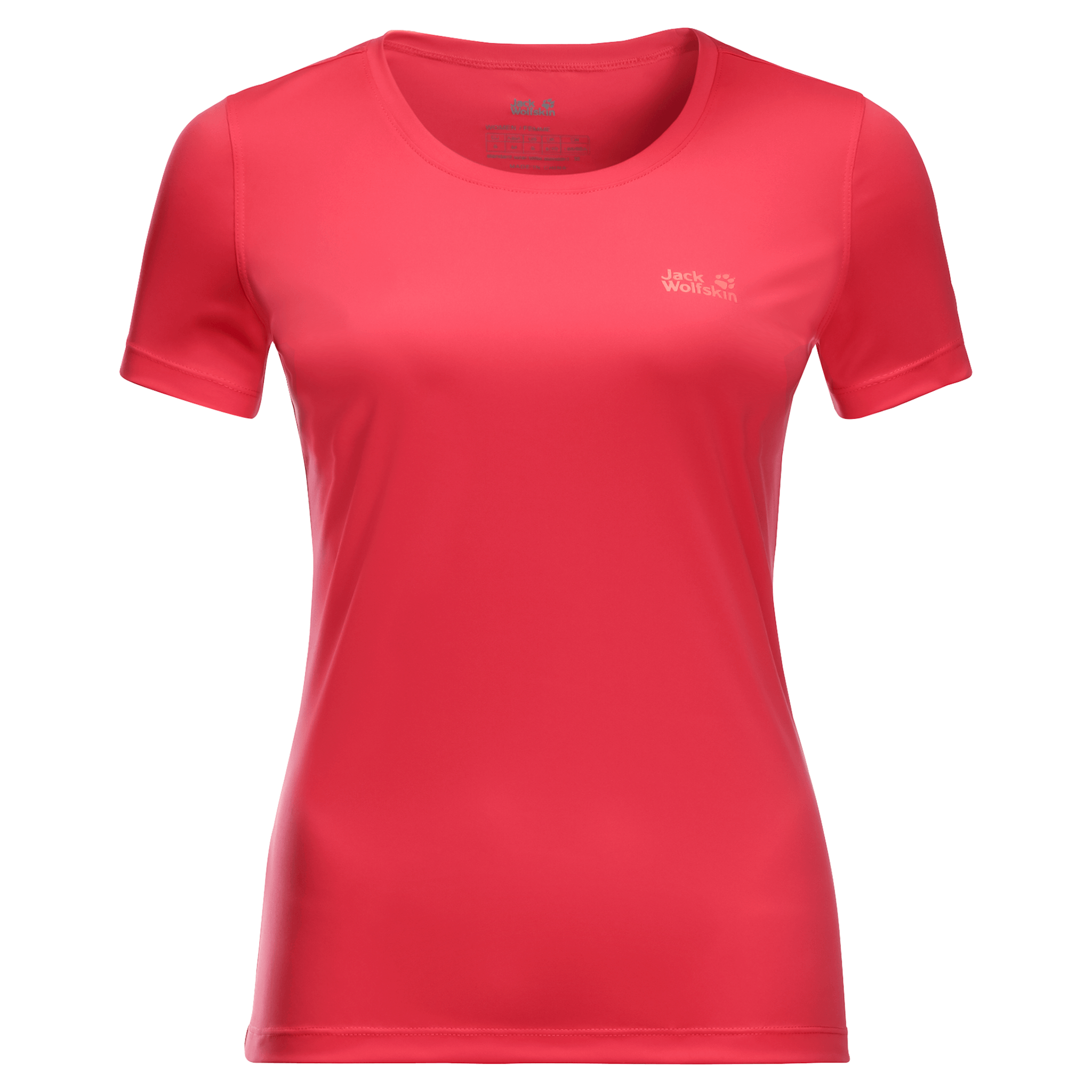 Tulip Red Womens Athletic Shirt
