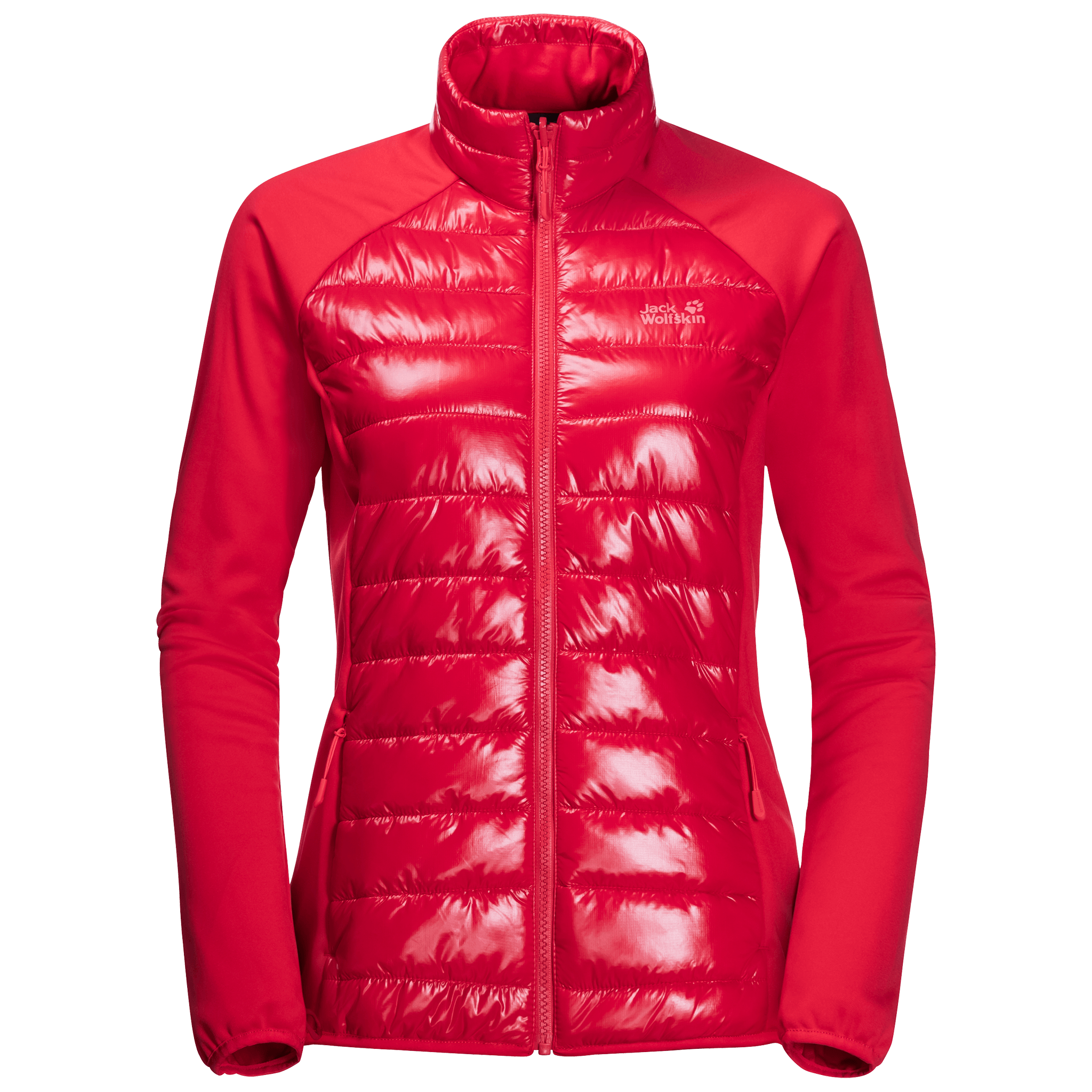 Clear Red 3-In-1 Waterproof Hardshell