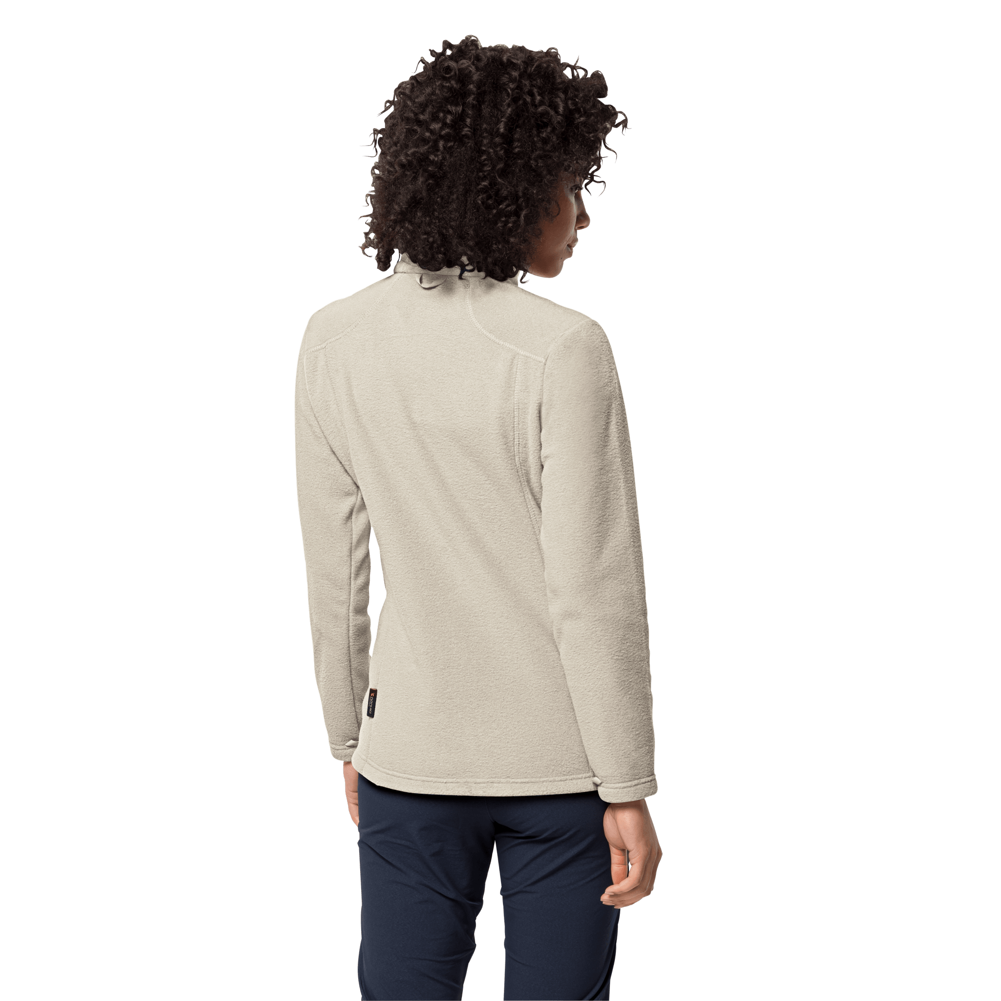 White Sand Fleece Jacket Women