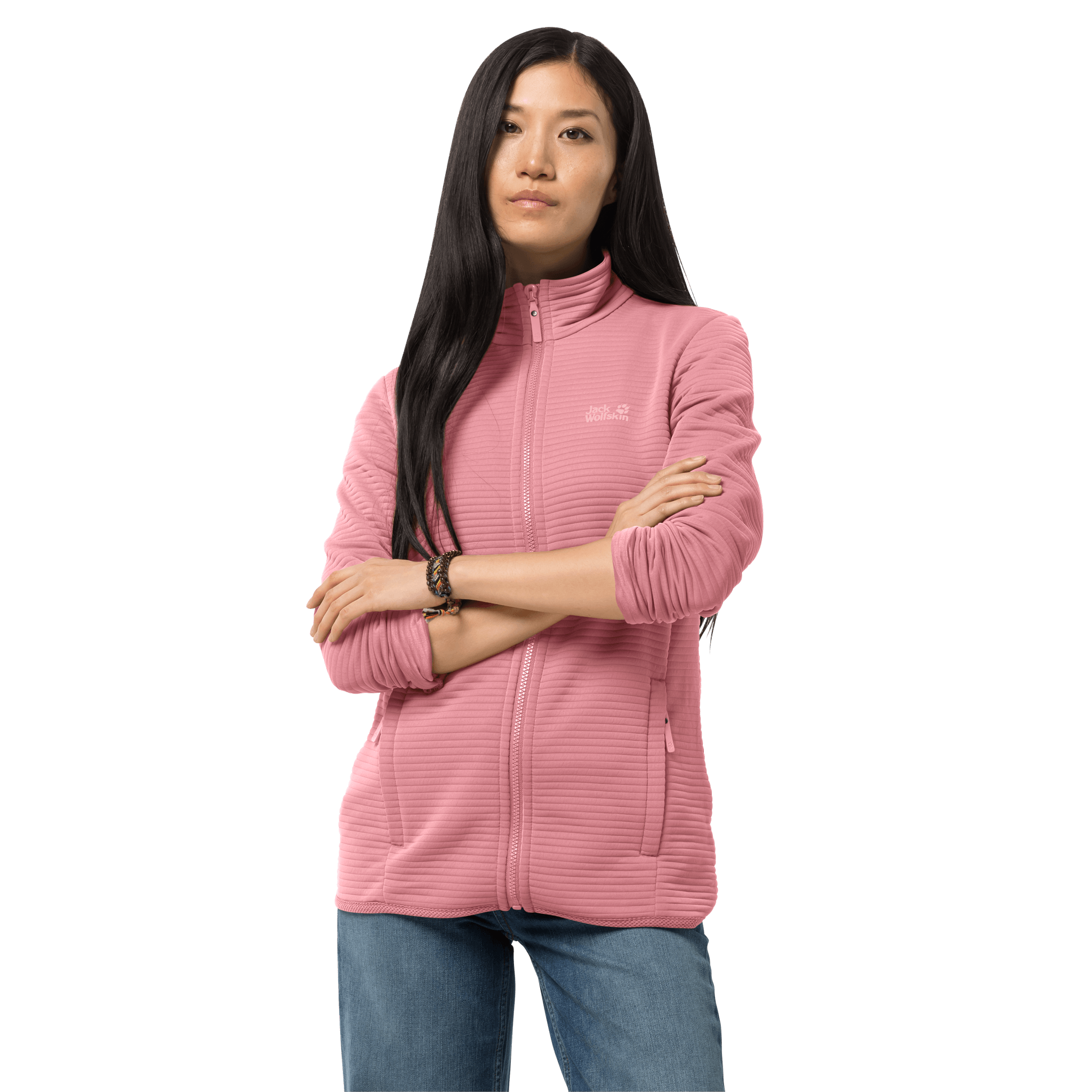 Rose Quartz Lightweight Travel Fleece Women