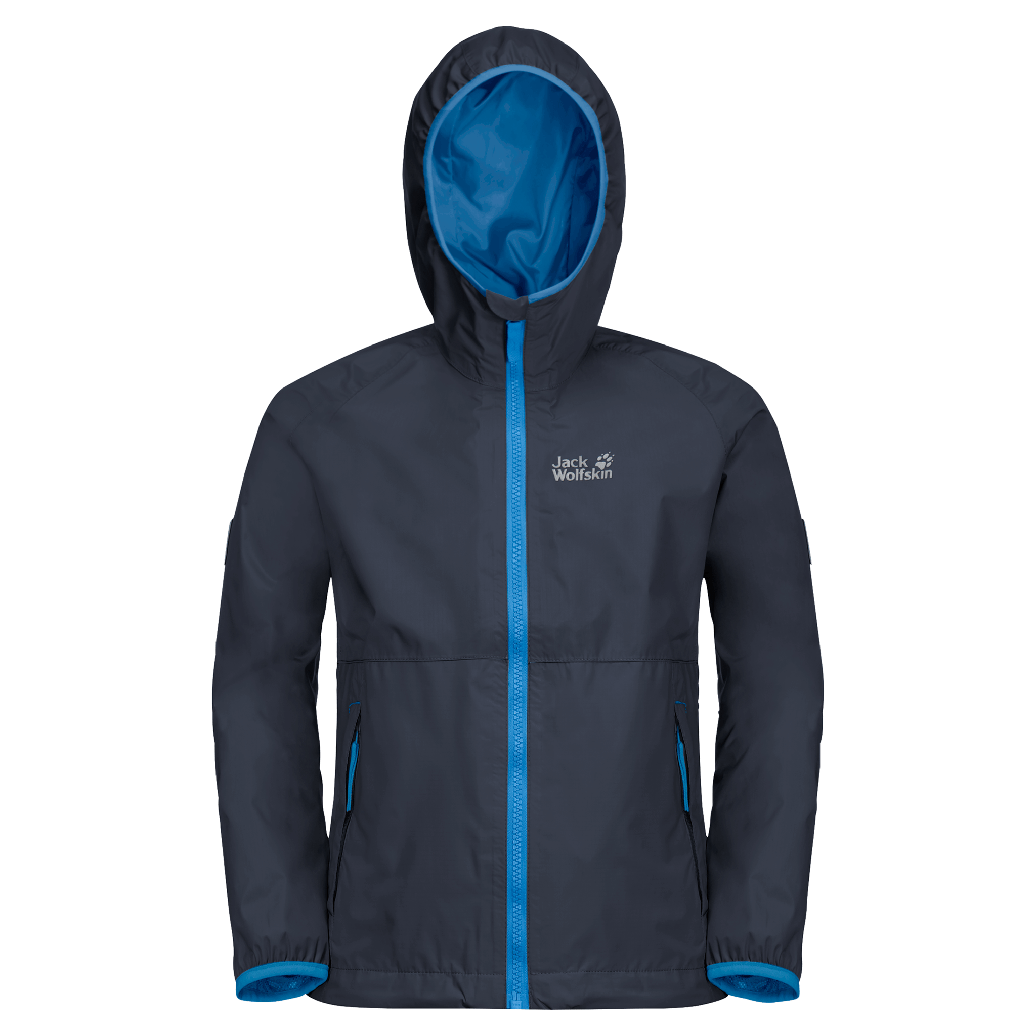 Night Blue Kids' Rain Jacket