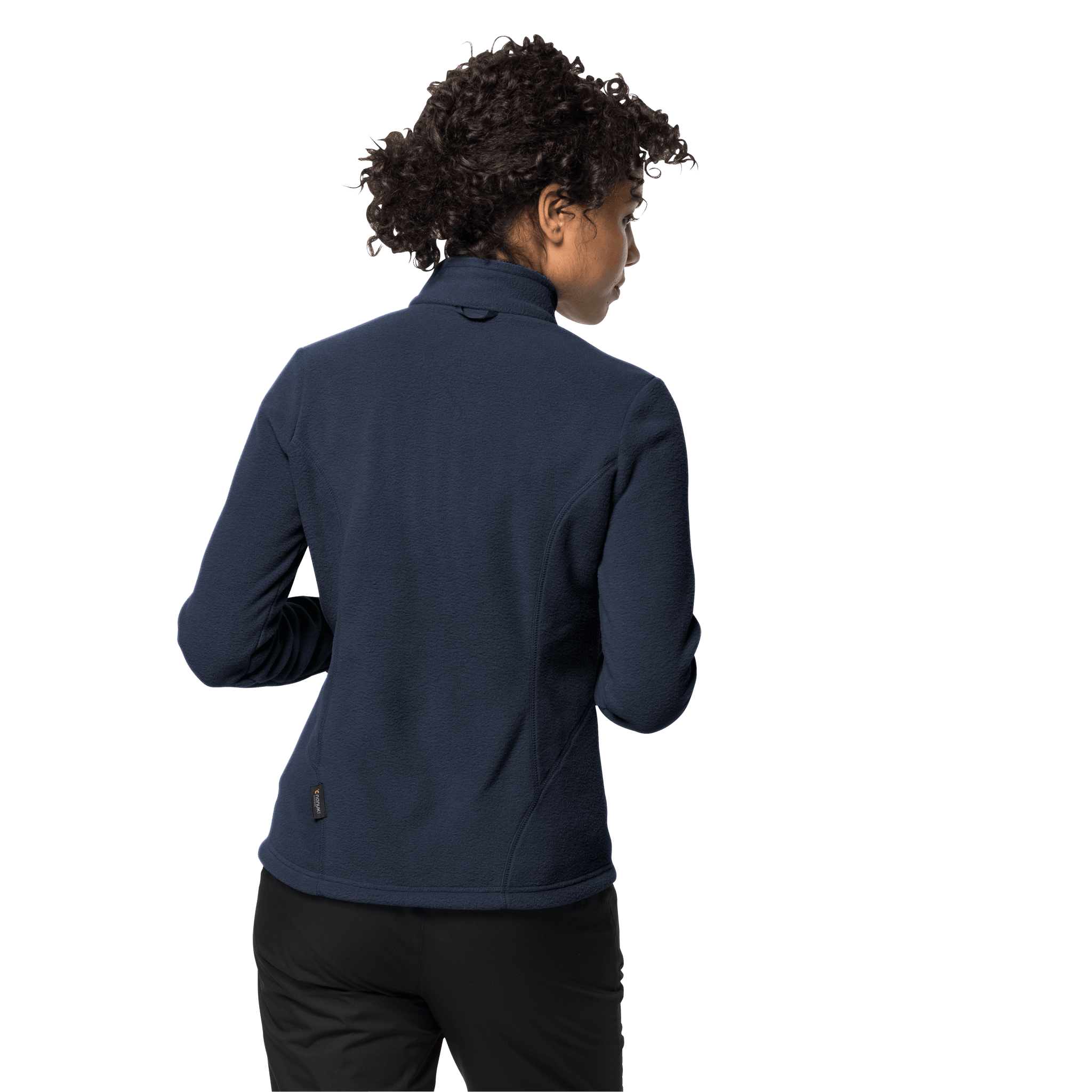Midnight Blue Fleece Jacket Women