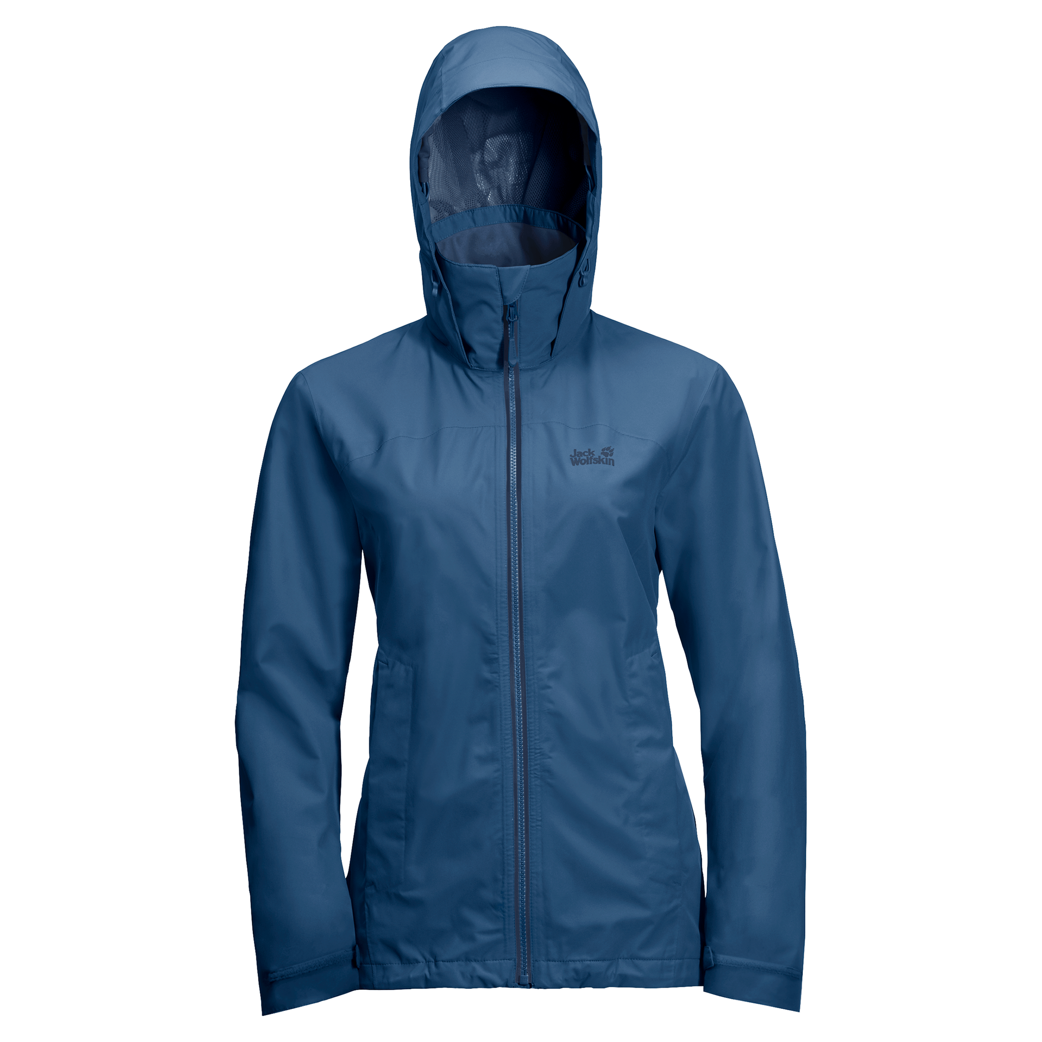 Indigo Blue Lightweight Rain Jacket