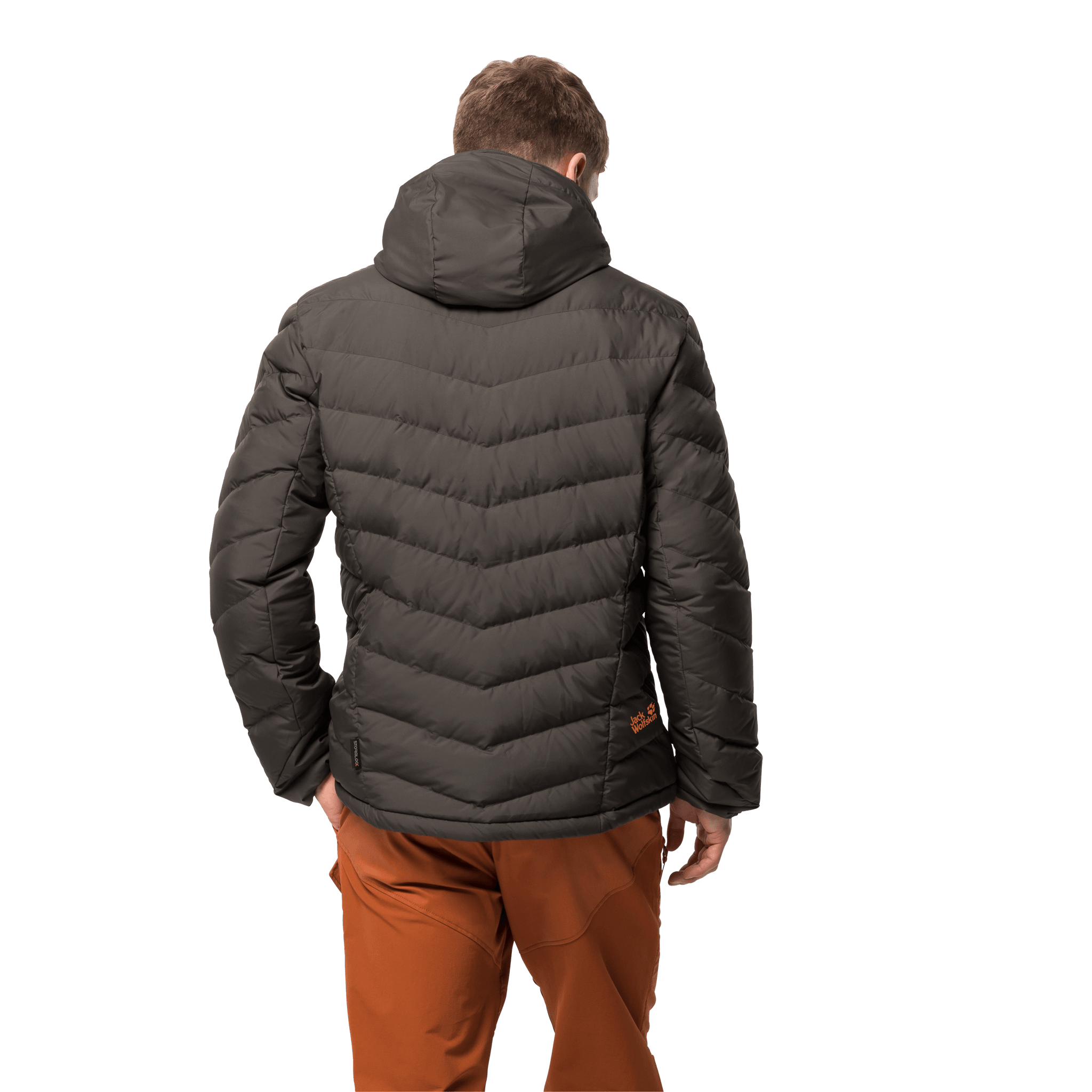 Brownstone Windproof Down Jacket Men