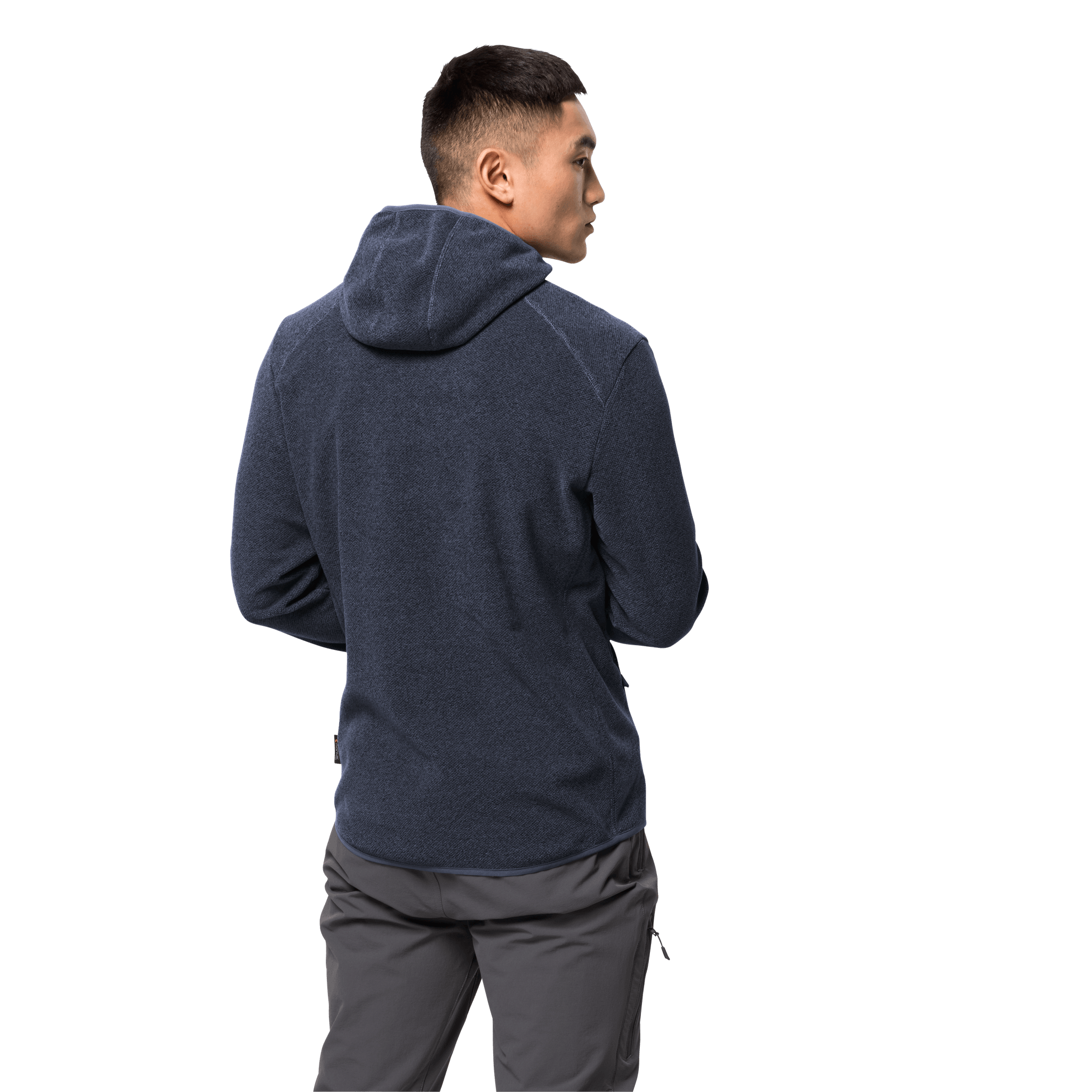 Night Blue Fleece Jacket Men