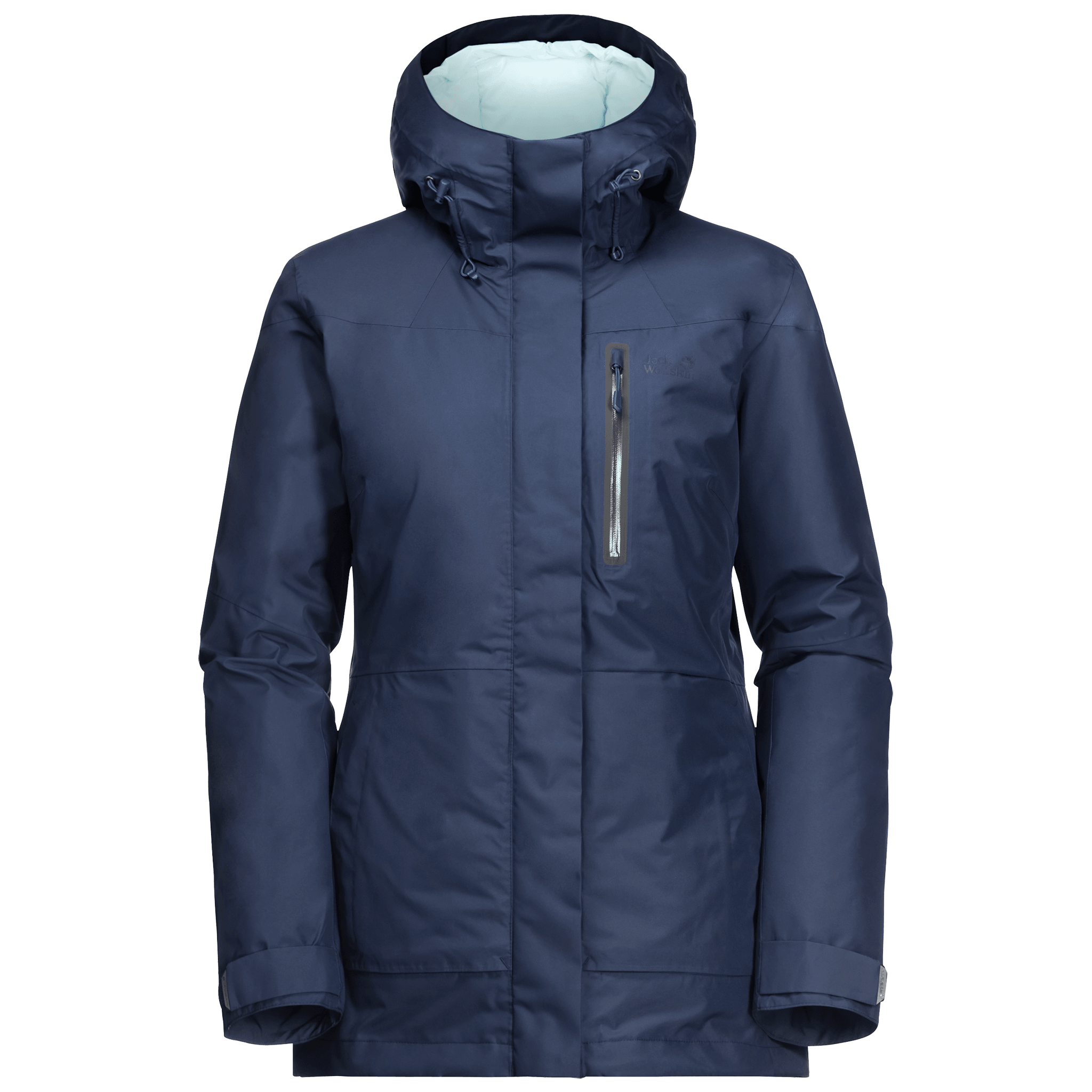 Dark Indigo Winter Parka Women