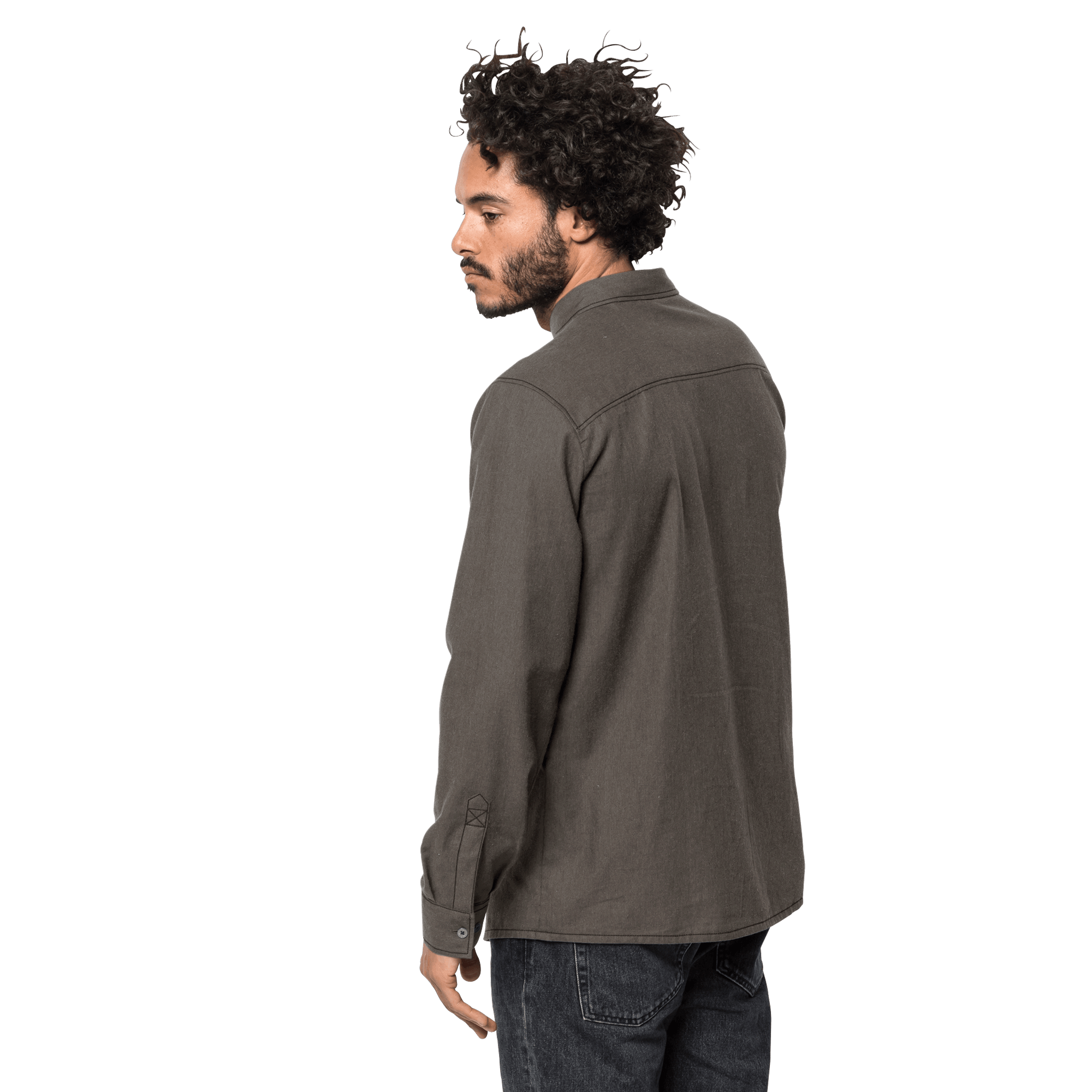 Brownstone Long-Sleeved Button Up