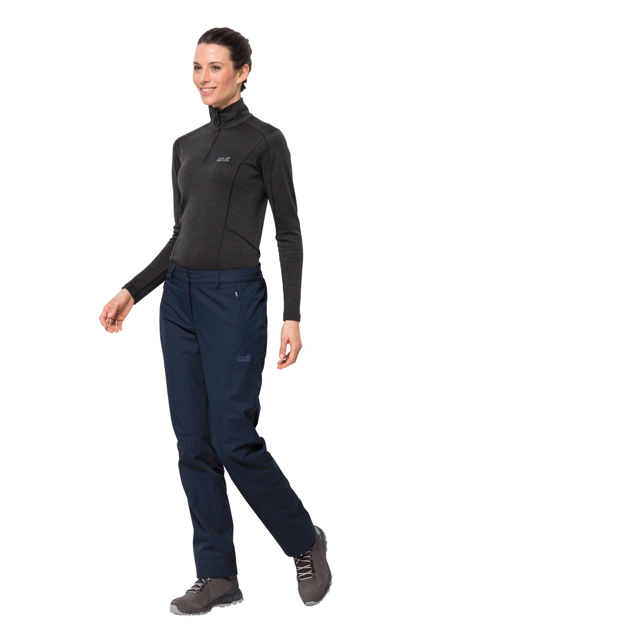 Midnight Blue Waterproof Hiking Pants Women