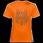 Glowing Orange Kids Organic Cotton T-Shirt