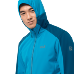 Blue Jewel Windproof Hiking Jacket