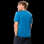Brilliant Blue Mens Athletic Shirt