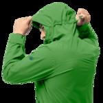 Basil Green Lightweight Hiking Jacket