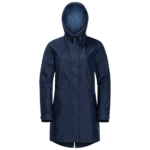 Midnight Blue Lightweight Rain Coat