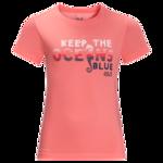 Apricot Coral Kids T-Shirt