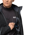 Black Lightweight Hiking Jacket