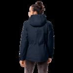Midnight Blue Windproof Jacket Women