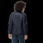 Night Blue Windproof Down Jacket Women