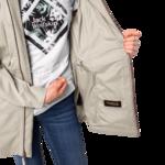 Dusty Grey Lightweight Rain Jacket