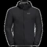 Black Windproof Summer Jacket Men