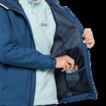 Indigo Blue Lightweight Rain Jacket