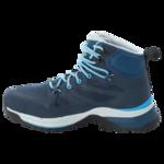 Dark Blue / Light Blue Womens Waterproof Hiking Shoes