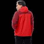 Fiery Red Lightweight Hiking Jacket