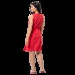 Tulip Red Summer Dress Women